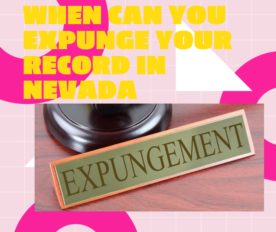 When can you seal your record in Nevada?