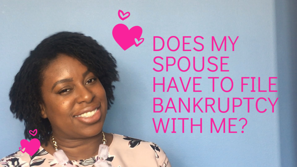 will bankruptcy affect my partner?